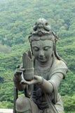 Buddistiskt lovorda för statyer arkivbilder