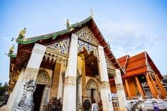 buddistiskt nordligt tempel thailand Arkivfoto