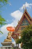 buddistiskt pattaya tempel Arkivbilder