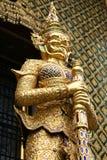 buddistiskt skulpturtempel Arkivbilder