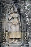 Buddistiskt snida Fotografering för Bildbyråer
