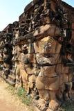 Buddistiskt snida Arkivfoto