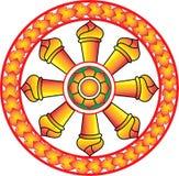 buddistiskt symbol Arkivfoto