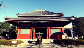 buddistiskt tempel Royaltyfri Fotografi