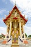 Buddistiskt tempel arkivbild