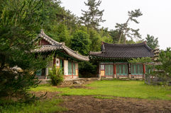 buddistiskt tempel Fotografering för Bildbyråer