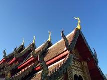 buddistiskt tempel Arkivbilder