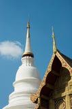 Buddistiskt tempel, Chiang Mai, Thailand fotografering för bildbyråer