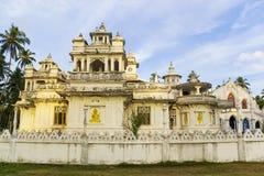 buddistiskt tempel för kristenkyrkanayake Arkivbild
