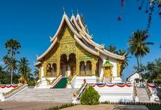 buddistiskt tempel för laos luangprabang Royaltyfri Fotografi