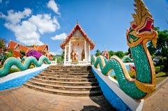 Buddistiskt tempel i Thailand Arkivbild
