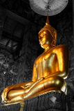 Buddistiskt tempel i Thailand. Buddha Royaltyfria Bilder