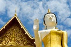 Buddistiskt tempel i Vientiane, Laos. arkivbild