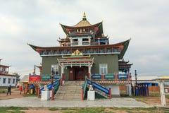 buddistiskt tempel Ivolginsky Datsan, republik av Buryatia, Ryssland arkivfoton