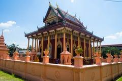 buddistiskt tempel thailand Arkivfoto
