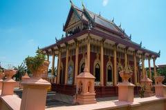 buddistiskt tempel thailand Arkivbilder