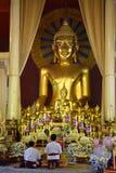 buddistiskt tempel thailand arkivbild
