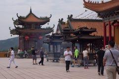 BuddistJintai tempel Arkivbilder