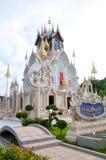 Buddistkyrka i templet Royaltyfria Bilder