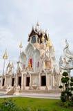 Buddistkyrka i templet Arkivfoto