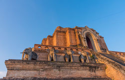 buddistpagod i Chiang Mai, Thailand Royaltyfri Foto
