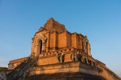 buddistpagod i Chiang Mai, Thailand Royaltyfria Bilder