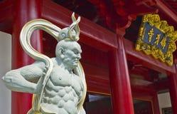 buddiststatytempel Royaltyfri Bild