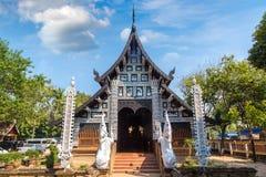 Buddisttempel i Chiang Mai royaltyfri foto