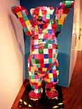 Buddy Bear traditionnel dans le musée de sport de Ritter Photos stock