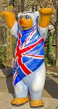 Buddy Bears Of UK Stock Photography