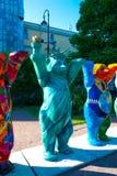 Buddy Bears unido imagem de stock royalty free
