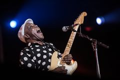 Buddy Guy Holland International Bluesfestival fotografia stock