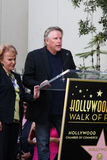 Buddy Holly, Gary Busey, Maria Elena Holly. LOS ANGELES - SEP 7:  Maria Elena Holly, Gary Busey at the Buddy Holly Walk of Fame Ceremony at the Hollywood Walk of Royalty Free Stock Image