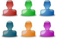 Buddy Icons Stock Images