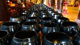 Buddyjscy święci księża zdjęcie royalty free