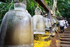 Buddyjscy Dzwony w Tajlandia zdjęcie stock