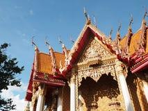 Buddyjska świątynia Kanchanaburi Fotografia Royalty Free