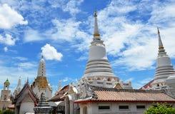 Buddyjska świątynia na świetlistość dniu fotografia stock