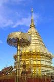 Buddyjska świątynia, Phra Ten Doi Suthep Fotografia Royalty Free