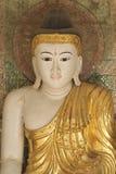 Buddyjska świątynia powikłany Shwedagon jest dziejowym symbolem buddyzm, Myanmar Zdjęcie Royalty Free