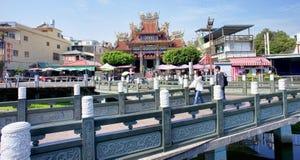 Buddyjska świątynia w Kaohsiung, Tajwan fotografia royalty free