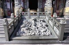 Buddyjska świątynia w Kaohsiung, Tajwan fotografia stock