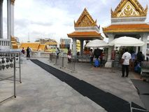 Buddyjska świątynia w Tajlandia, Bangkok Obrazy Royalty Free