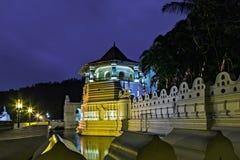 Buddyjska świątynia ząb kandy Sri Lanka asia obraz stock