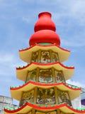 buddyjska chińska pagoda Obraz Stock