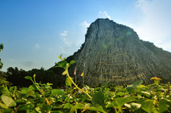 Buddyjska góra Obraz Stock