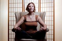 buddyjska medytacja Obrazy Stock
