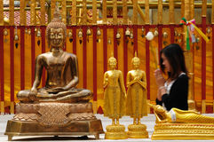 buddyjska modlitwa Obraz Stock