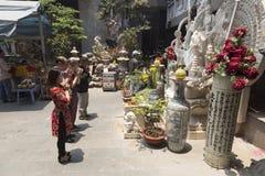 Buddyjska modlitwa zdjęcia stock