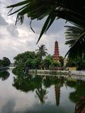 Buddyjska pagoda zdjęcie royalty free